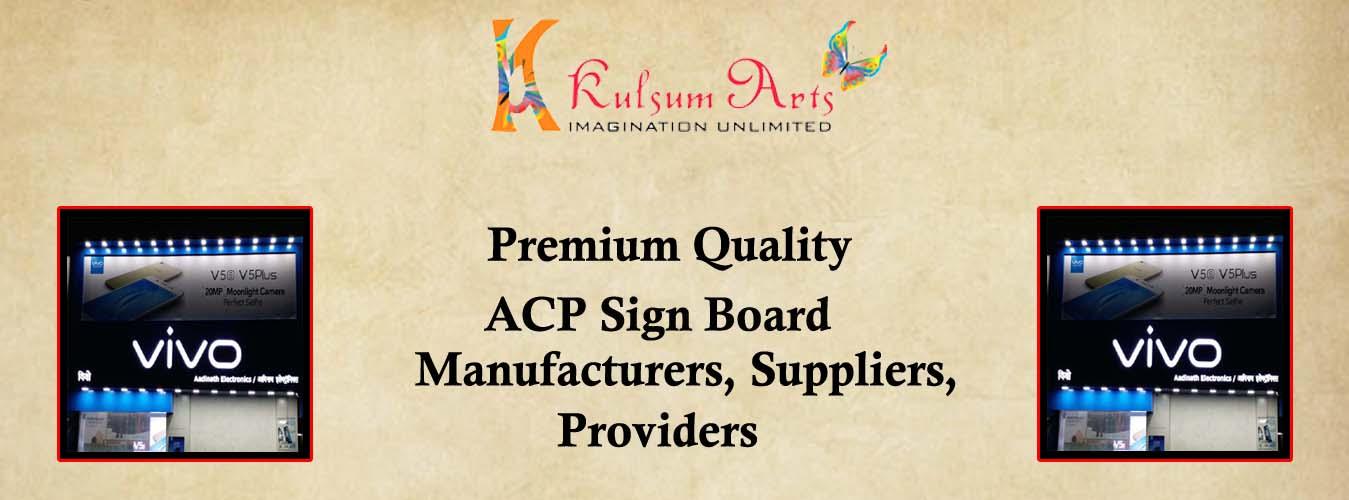 ACP Sign Board