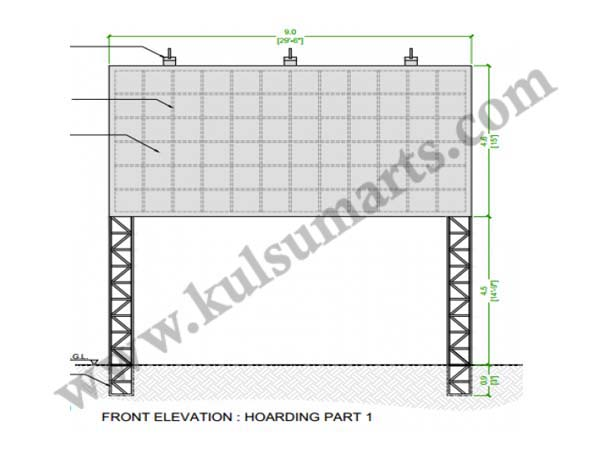 Commercial Building Sign Board Manufacturers