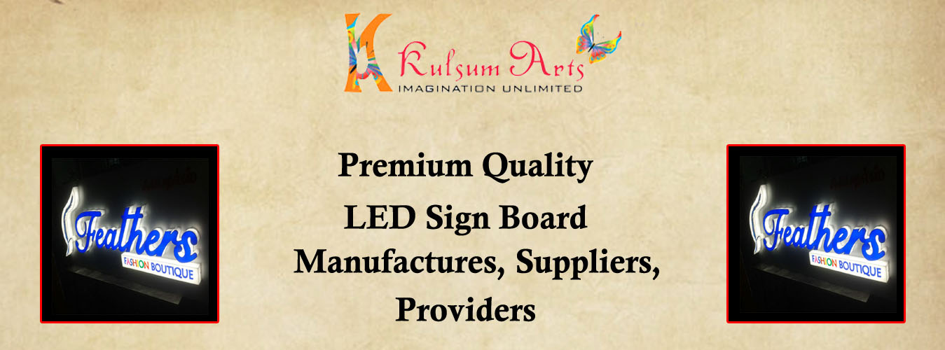 LED Sign Board