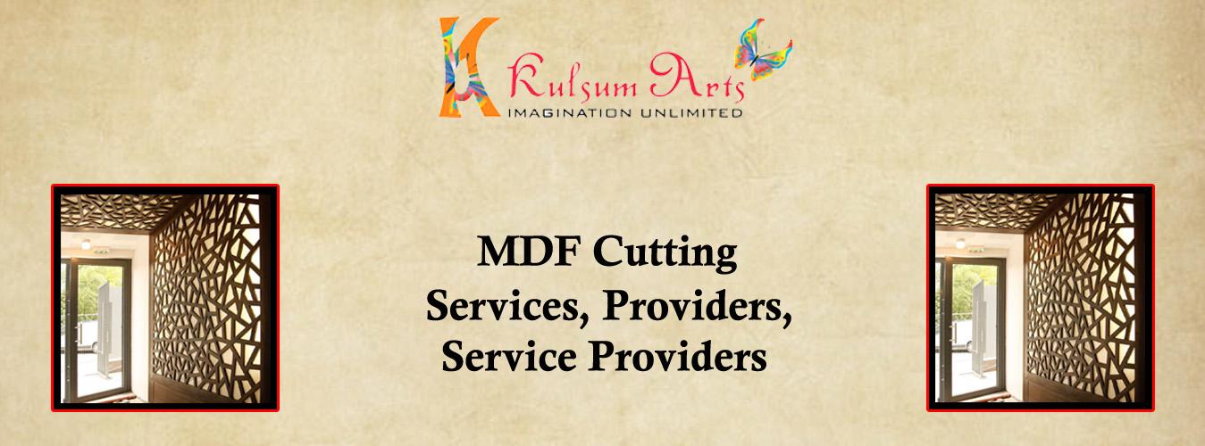 MDF Cutting